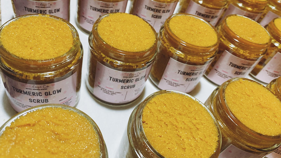 Turmeric Glow Scrub