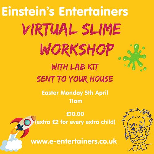 Virtual Slime workshop  05/04/2021-11:00 Slime Making