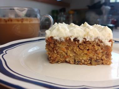 עוגת גזר בסגנון סטארבקס- עשירה יותר מביל גייטס