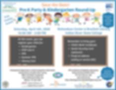 2020 Pre-K Party & Kindergarten Round-up