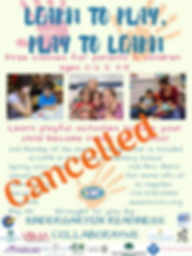 Cancelled _ Learn to Play _ Spring 2020