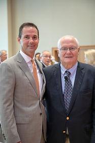 Cressman Bronson and David Lawrence Jr.j