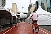 Locação de Tendas - Evento Viarada na Paulista