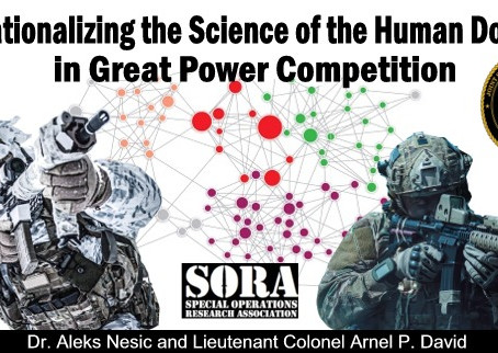 Operationalizing the Science of the Human Domain in Great Power Competition