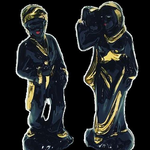 Ceramic Moor Figurines