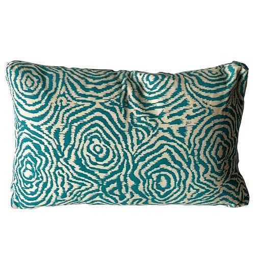 Quadrille Meloire Reverse Lumbar Pillow