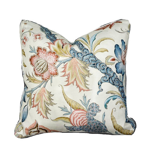 Cowtan and Tout Arabella Fabric Pillow with Down Insert