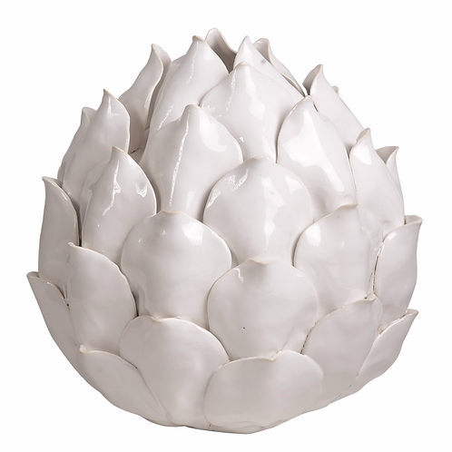 Large Ceramic Artichoke