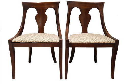 Pair of Splat Back Chairs