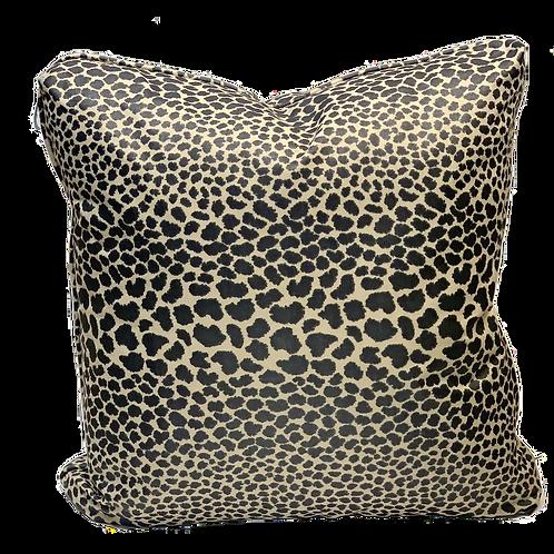 Black Leopard Pillow