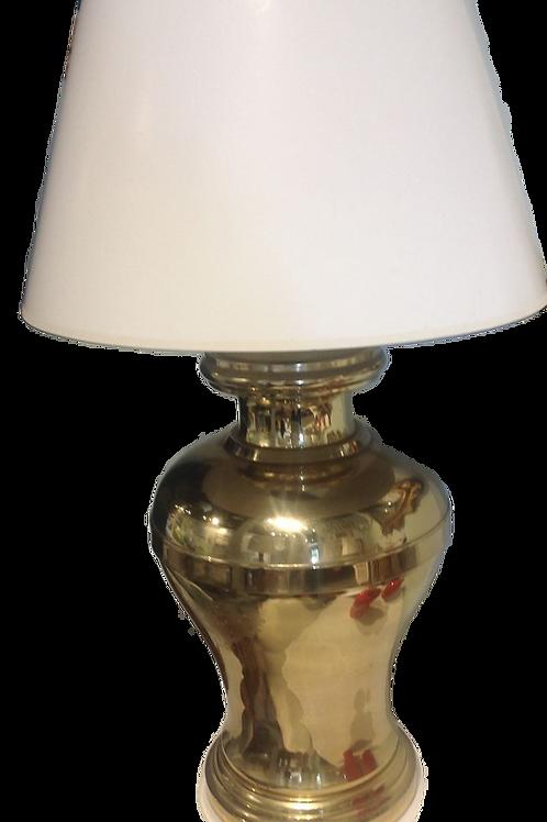 Mid Century Brass Lamp