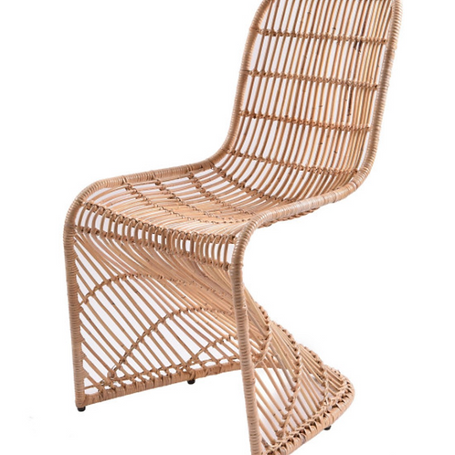 Rattan Panton Chairs