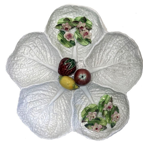 Cabbage Serving Platter with Fruit