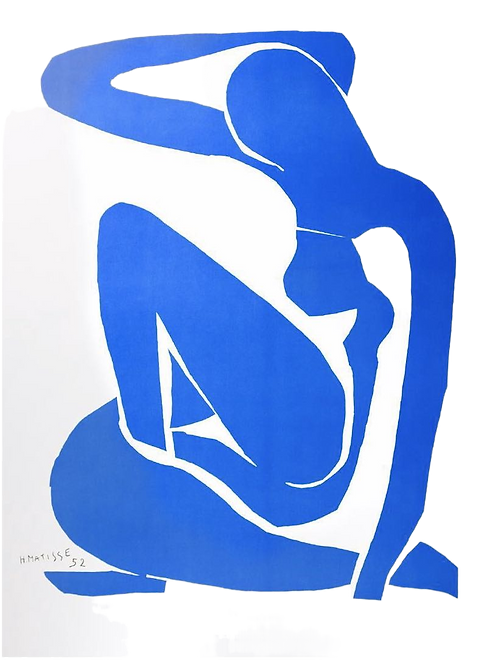 Color Lithograph Henri Matisse Painting