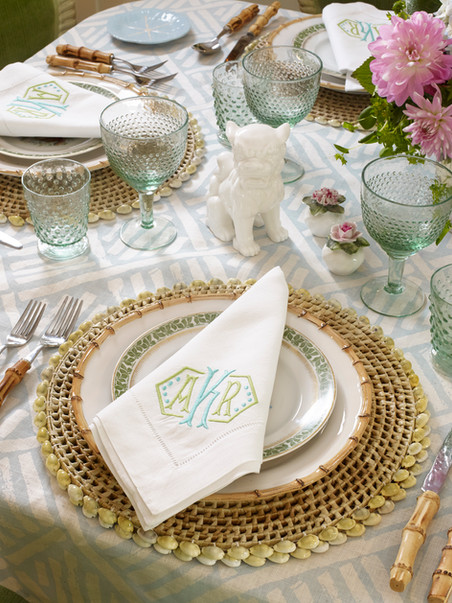 Centerport Table Setting
