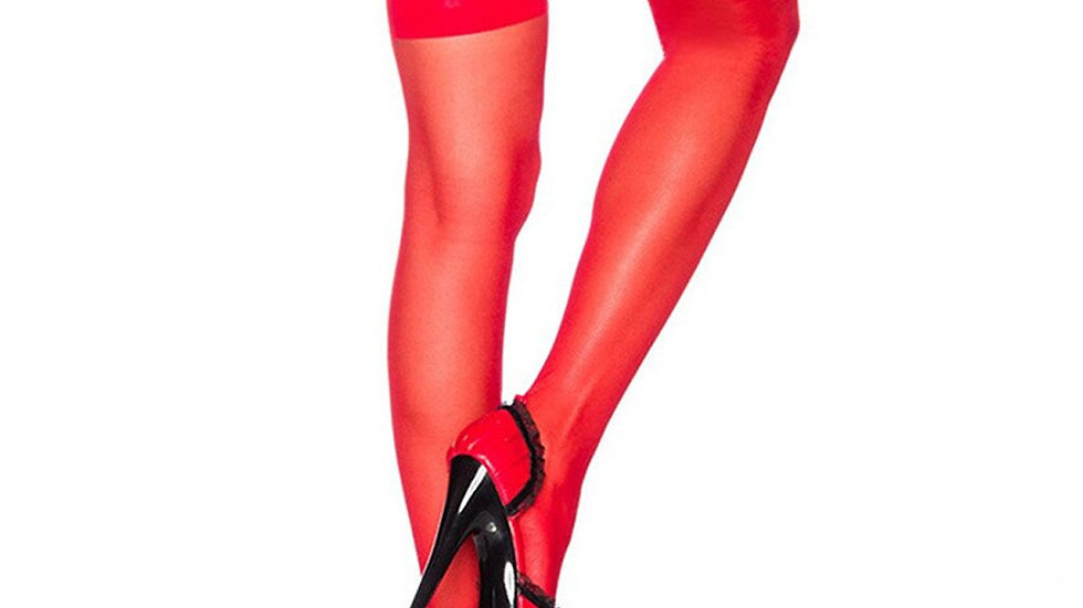 Fashion Sexy Womens Lingerie Net  Thigh Stocking Lingerie Garter Belt