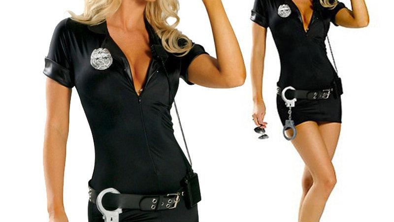 Sexy Policewoman Uniform