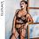 Thumbnail: Ellolace Sexy Lace Lingerie Women Underwear 3 Piece Set