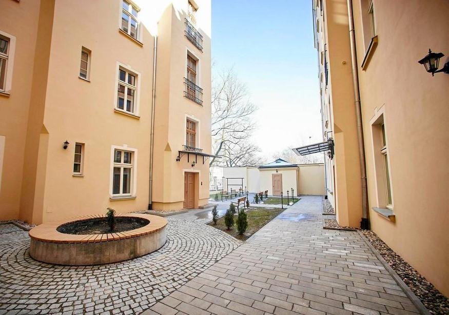 projekt architektoniczny modernizacji kamienicy w Łodzi przy Sienkiewicza 18