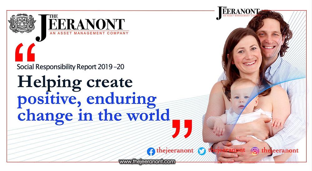 2019-20 Social Responsibility Report  : The Jeeranont