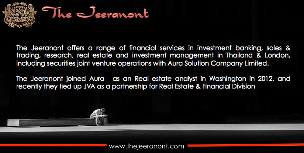 Financial Services : The Jeeranont Company Limited