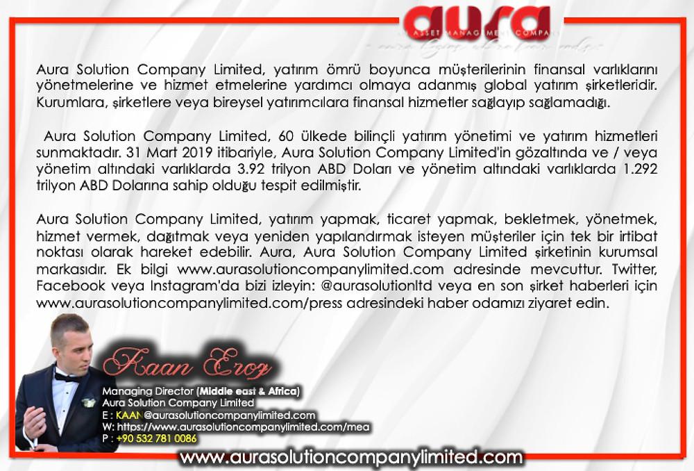 Hakkımızda: Kaan Eroz: Aura Çözüm Şirketi Limited Şirketi