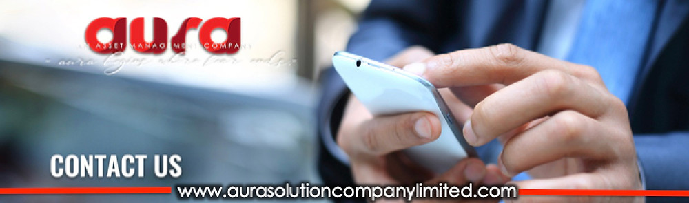 How to Contact us : Aura Solution company Limited