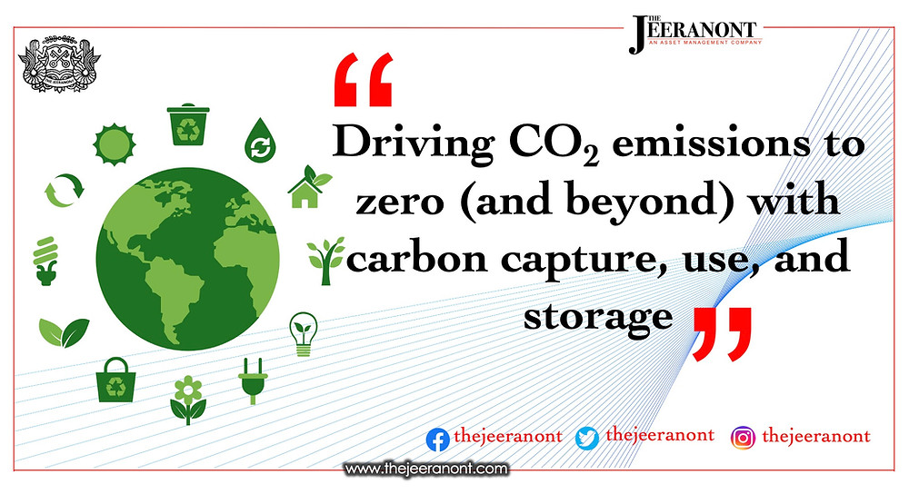 Driving CO2 emissions to zero (and beyond) with carbon capture, use, and storage : The Jeeranont