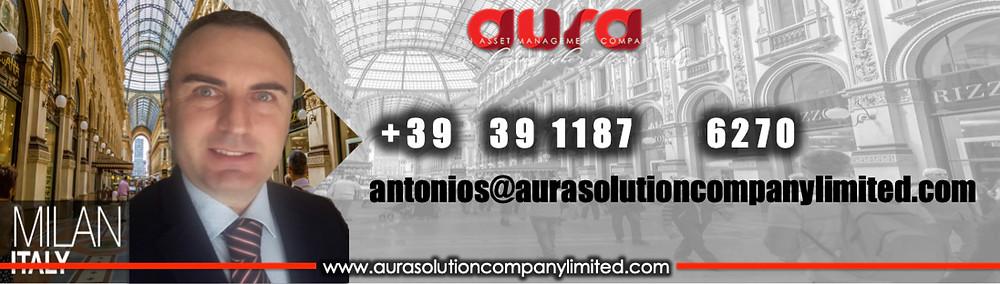 Antonio Sanguedolce : Aura Solution Company Limited