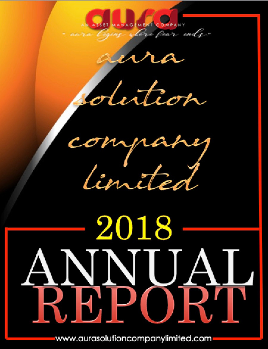 Rapport annuel: 2018-19: Aura Solution Company Limited