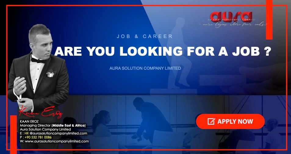 Job and career : Our responsibility as an employer : Aura Solution Company Limited