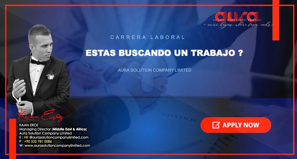 Trabajo y carrera: nuestra responsabilidad como empleador: Aura Solution Company Limited