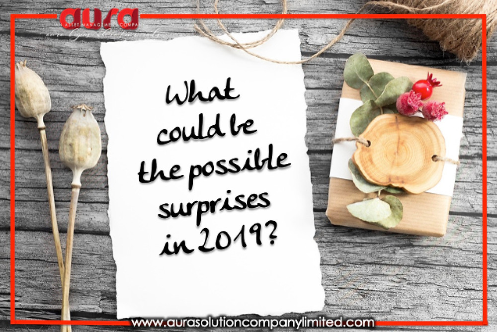 What could be the possible surprises in 2019?