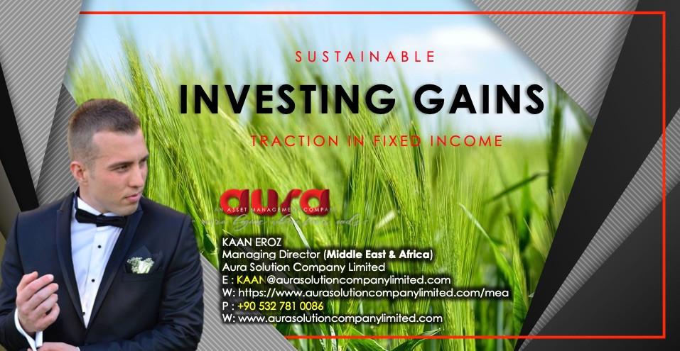 Sürdürülebilir yatırımlar sabit gelir kazancı sağlar: Aura Solution Company Limited