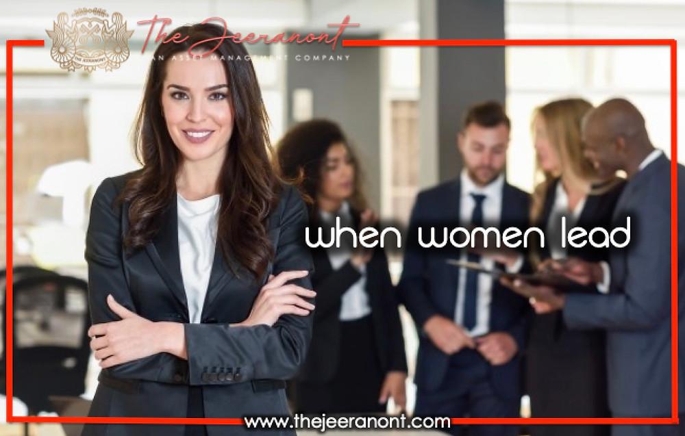 When Women Lead : The Jeeranont