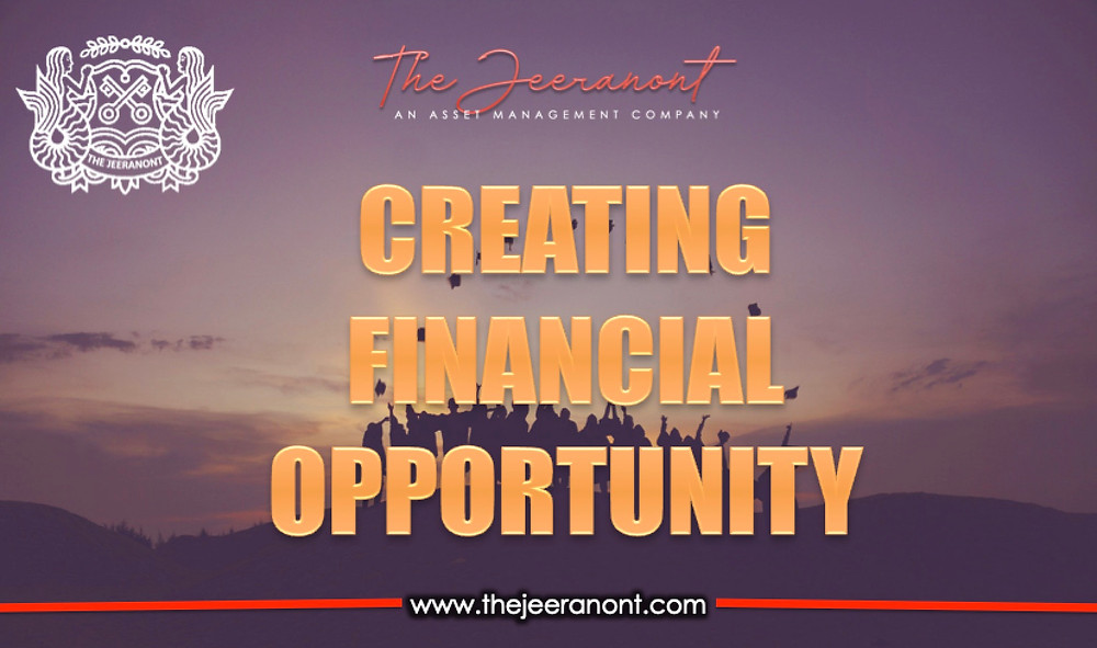 Creating financial opportunity : The Jeeranont