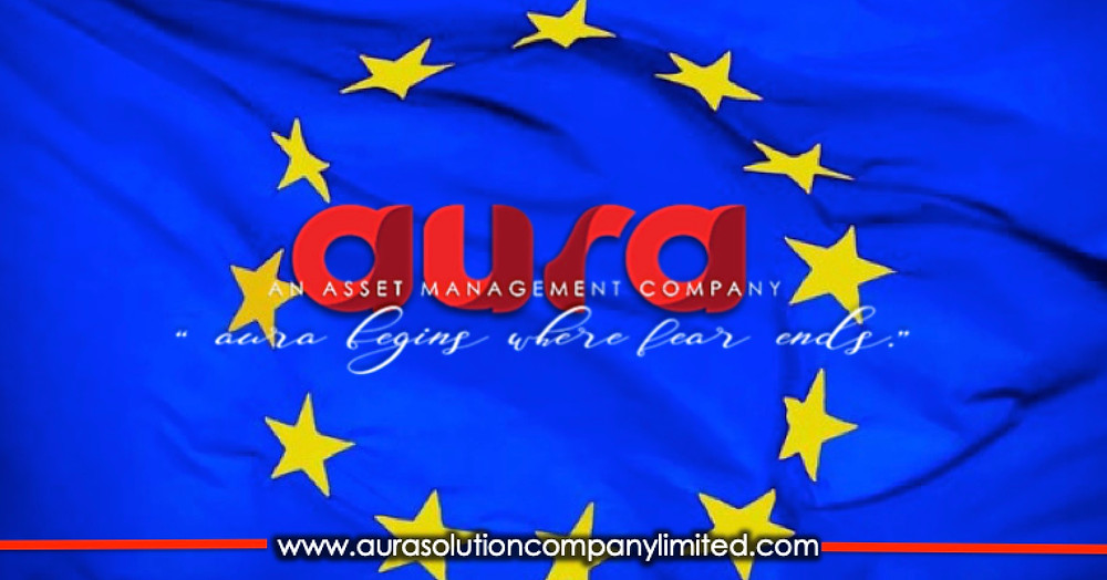 Europe and the euro 20 years celebrate with  Aura Solution Company Limited