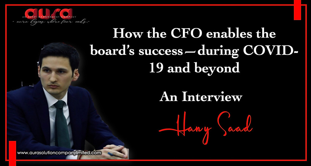 How the CFO enables the board's success—during COVID-19 and beyond : Aura Solution Company Limited