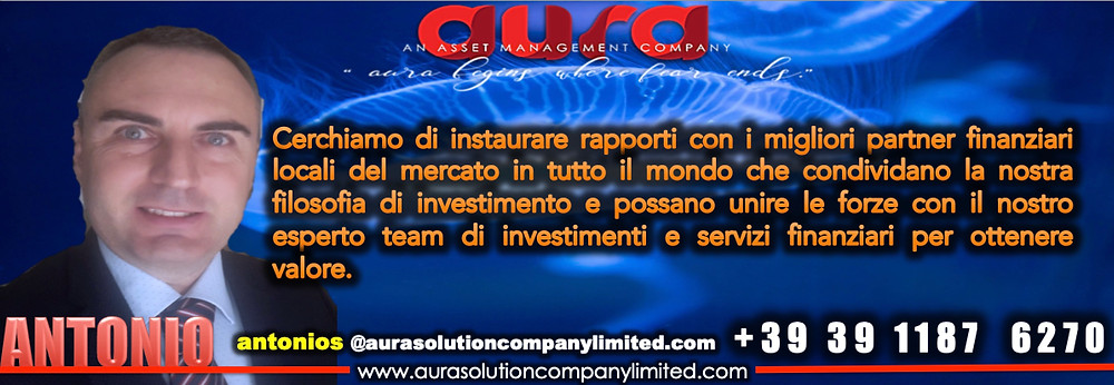 Antonio Sanguedolce, Director.Italy , Aura Solution Company Limited