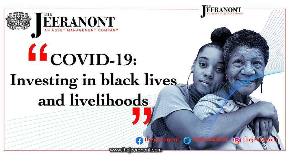 COVID-19: Investing in black lives and livelihoods : The Jeeranont