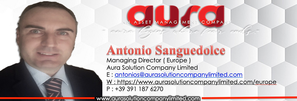 Antonio Sanguedolce : Europe : Managing Director : Aura Solution Company Limited