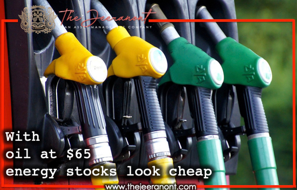 With oil at $65, energy stocks look cheap: The Jeeranont