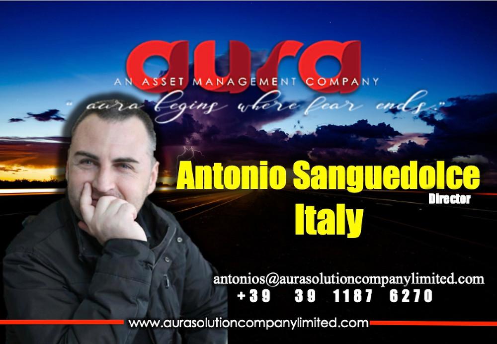 Antonio Sanguedolce,Italy