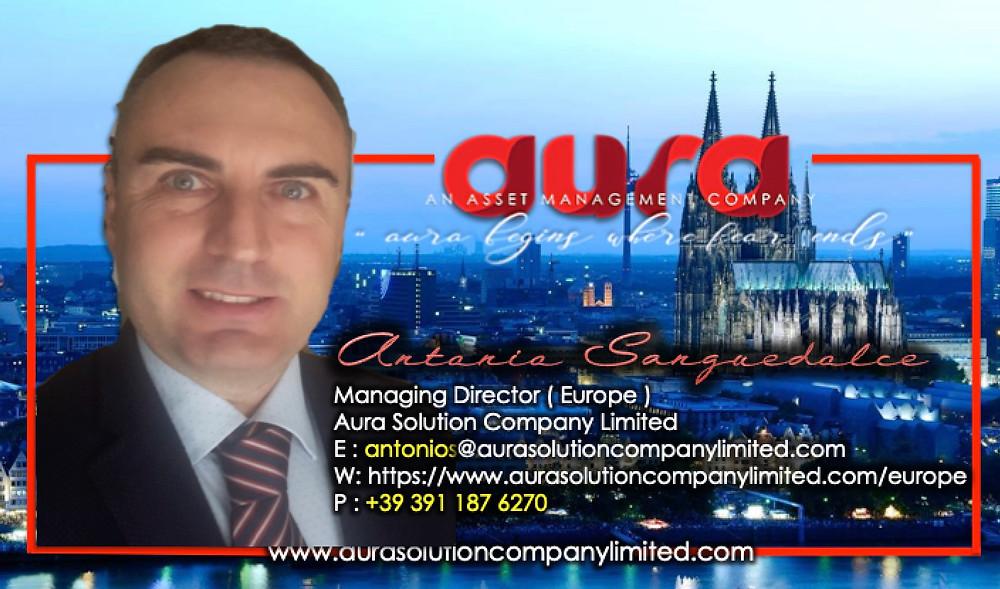 Come contattarci: Aura Solution Company Limited