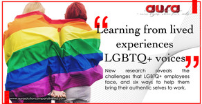 """Learning from lived experiences """"LGBTQ+ voices"""" : Aura Solution Company Limited"""