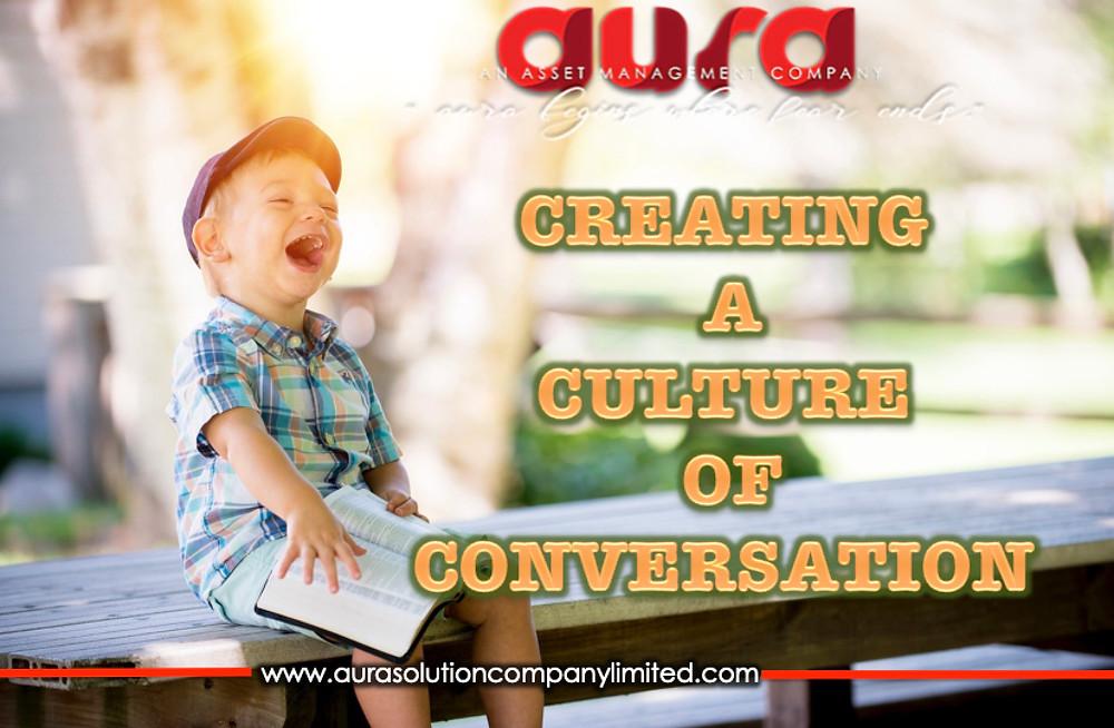 Bir konuşma kültürü oluşturma: Aura Solution Company Limited