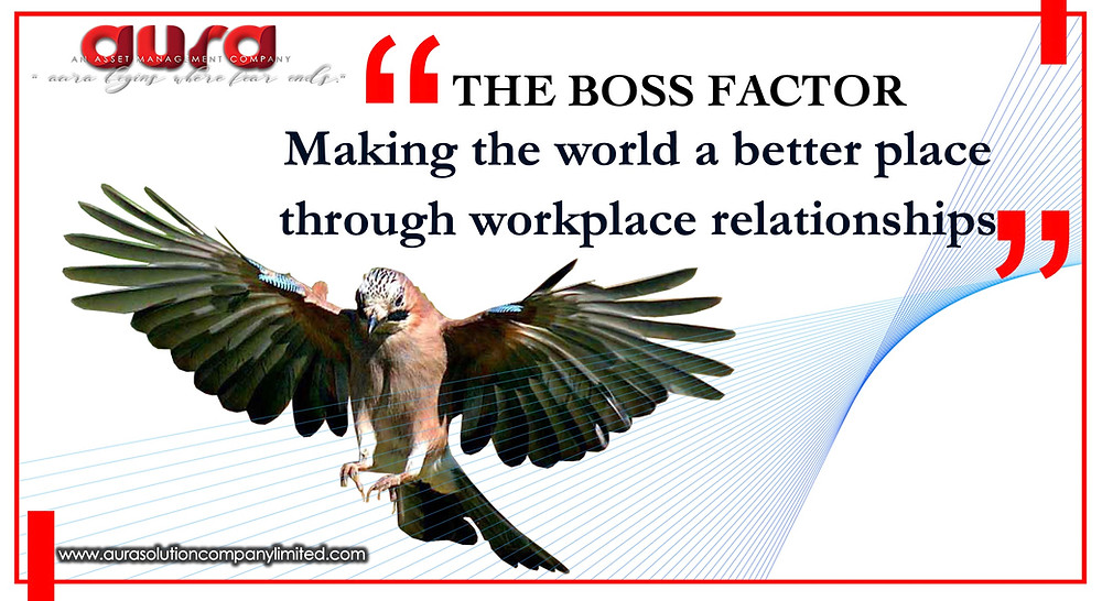 Making the world a better place through workplace relationships : Aura Solution Company Limited