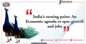 India's turning point: An economic agenda to spur growth and jobs : The Jeeranont