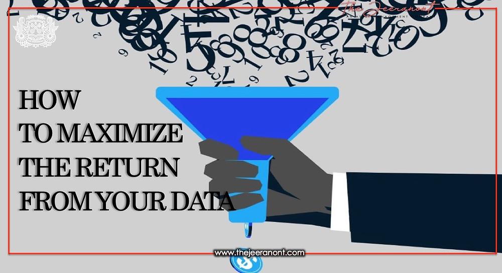 Как максимизировать отдачу от ваших данных: The Jeeranont