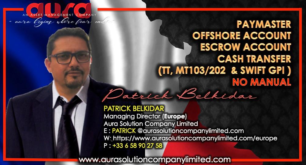 Gestion de patrimoine et de patrimoine en superposition: Patrick Belkidar: Aura Solution Limited